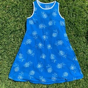 🌸💙👗 Blue Flower Dress for Little Missy